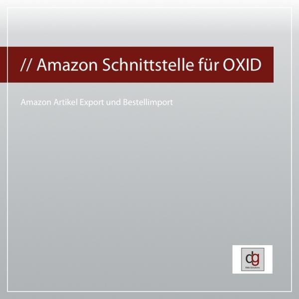 Amazon Schnittstelle für OXID eShop