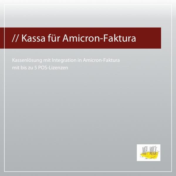 Kasse (Kassa) für Amicron Faktura