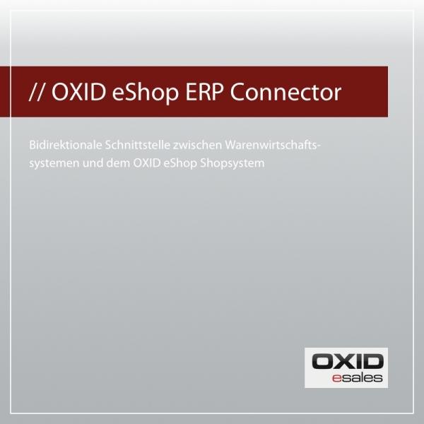 OXID ERP Connector für OXID eShop PE