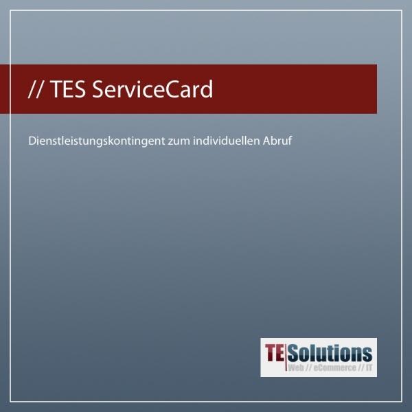 TES ServiceCard eCommerce & Wawi