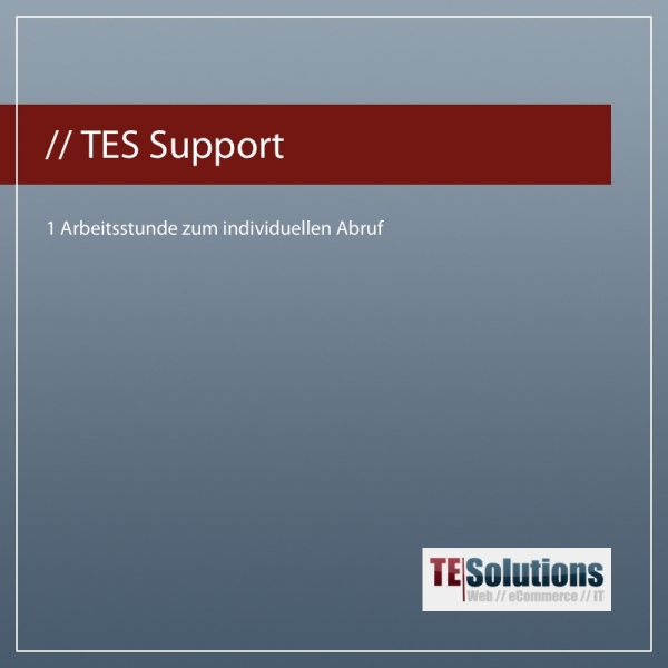TES eCommerce & Wawi Support