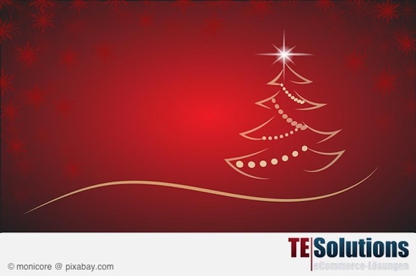 Frohe Weihnachten und Erreichbarkeit zum Jahreswechsel