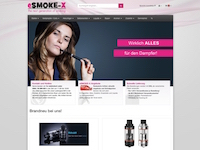 Relaunch des Shops eSMOKE-X.de