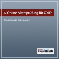 Neues OXID Modul zur Online Altersverifikation